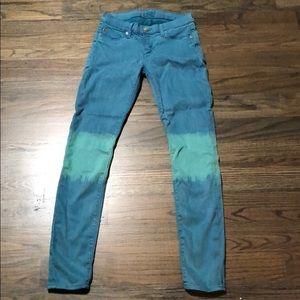 Hudson Krista super skinny jeans. Size 26. Cool!